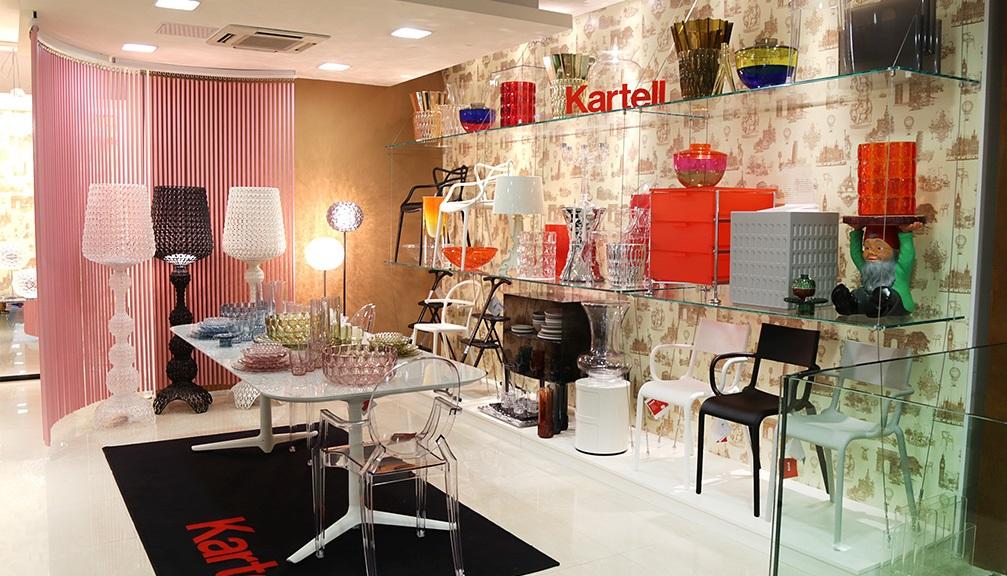 Kartell: oggetti darredamento dal design essenziale