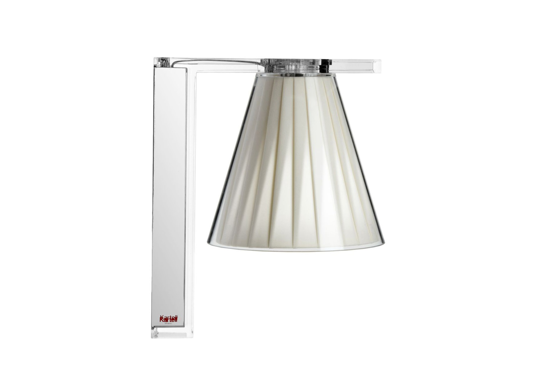 Kartell lampada applique light air beige acquista su zanolli