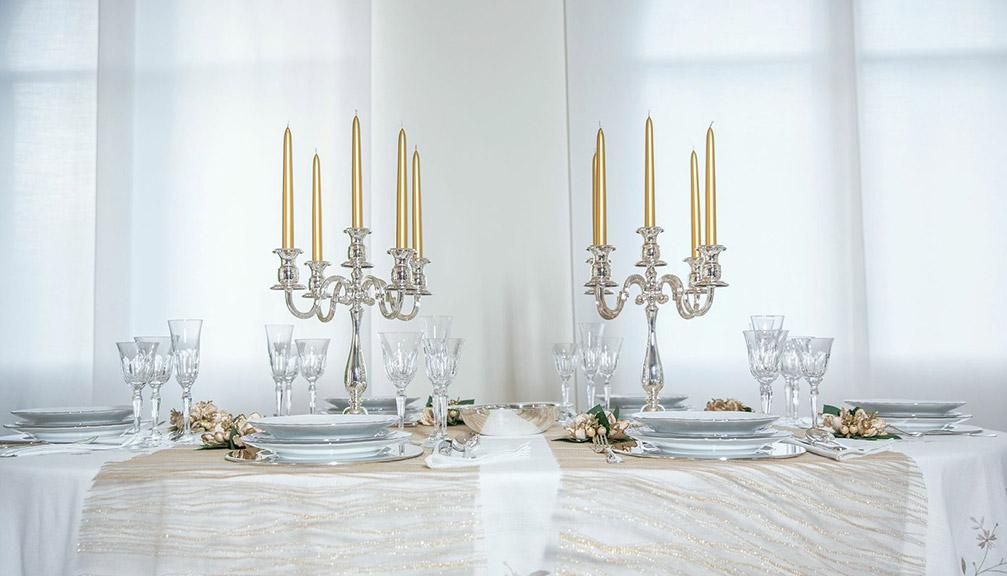 Articoli in argento per cerimonie zanolli for Regali per 25 anni di matrimonio amici