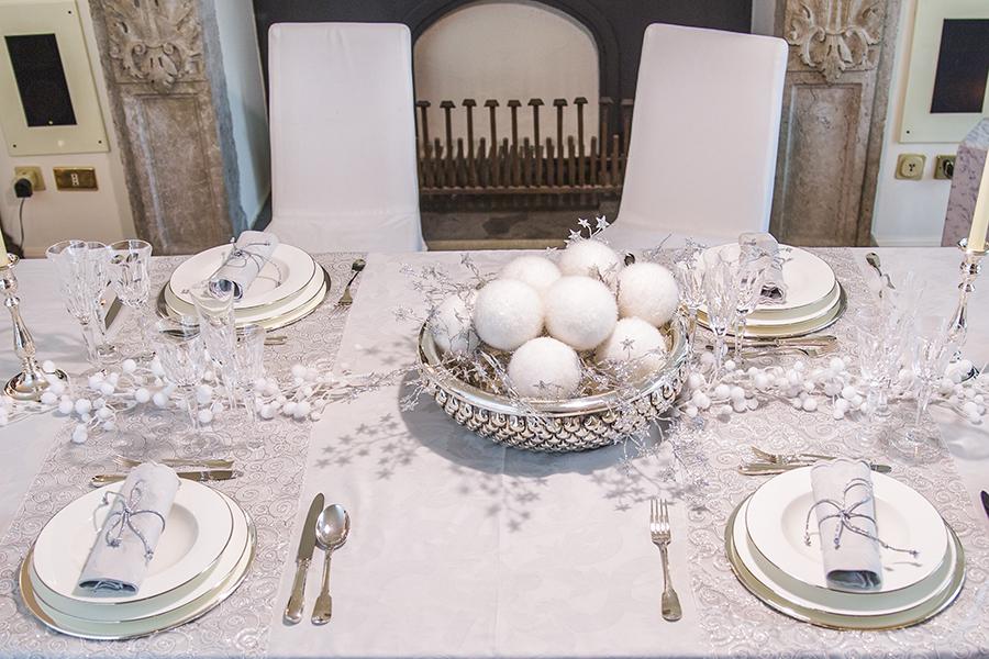 Come apparecchiare la tavola per natale - Apparecchiare una tavola elegante ...