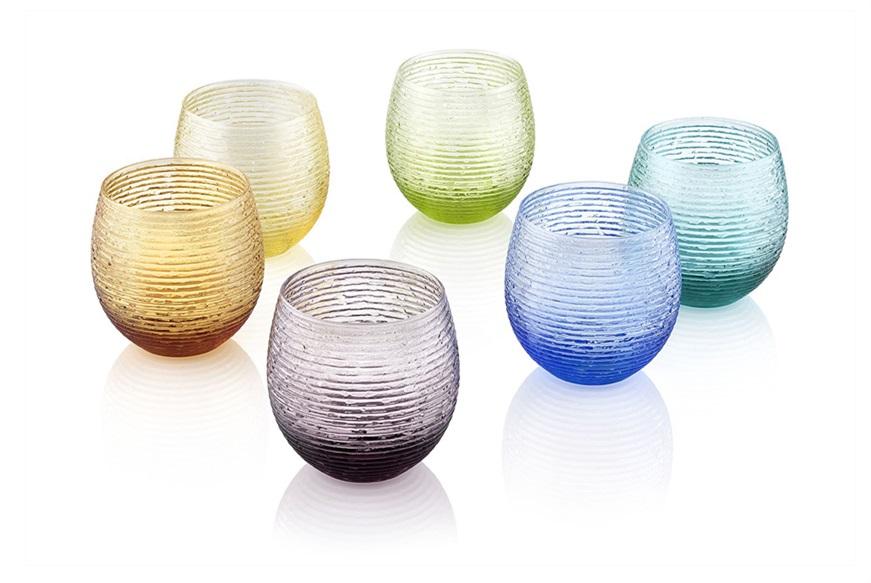 Bicchieri colorati idee per apparecchiare la tavola for Bicchieri colorati