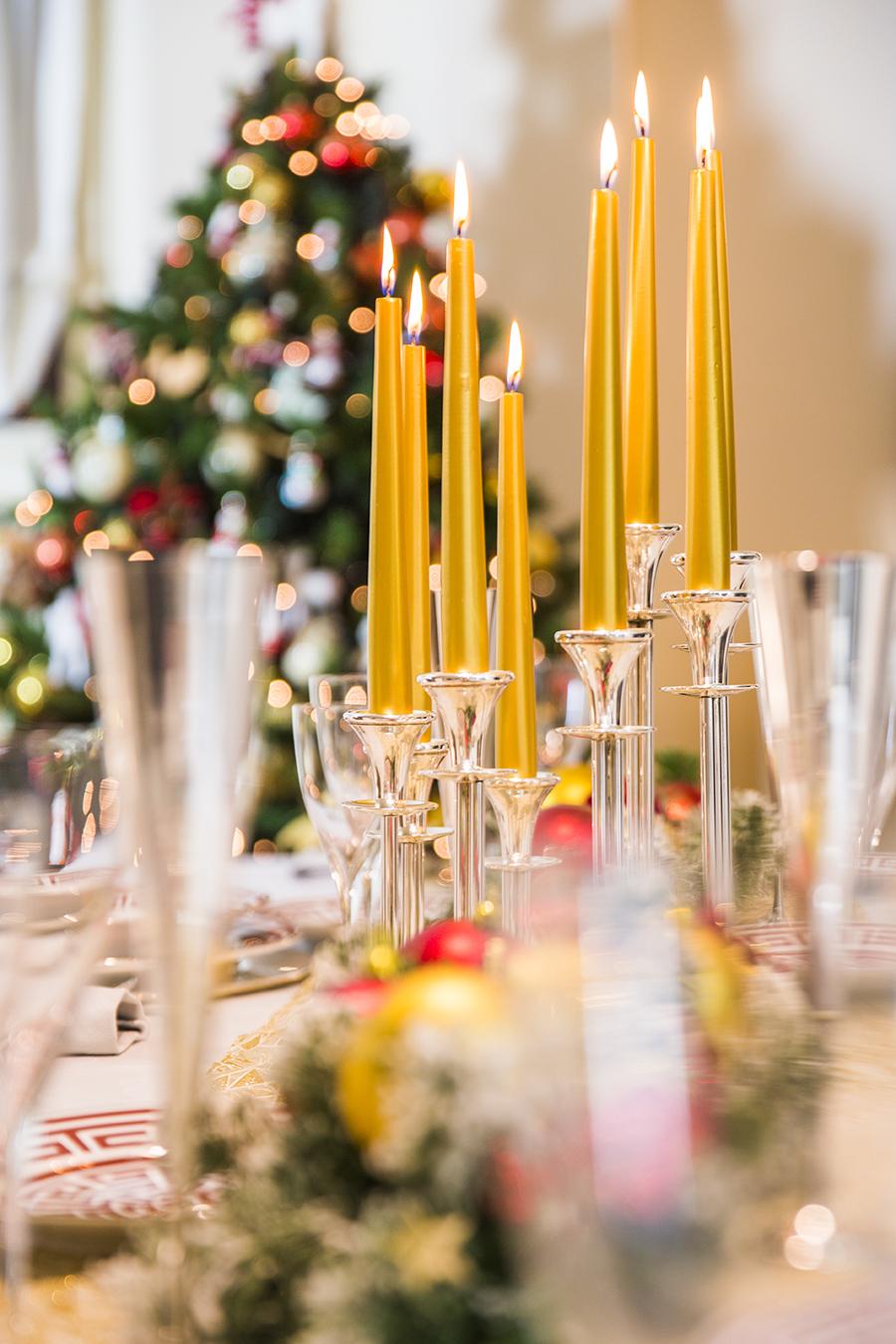 Creare Composizioni Per Natale come fare un centrotavola per natale?