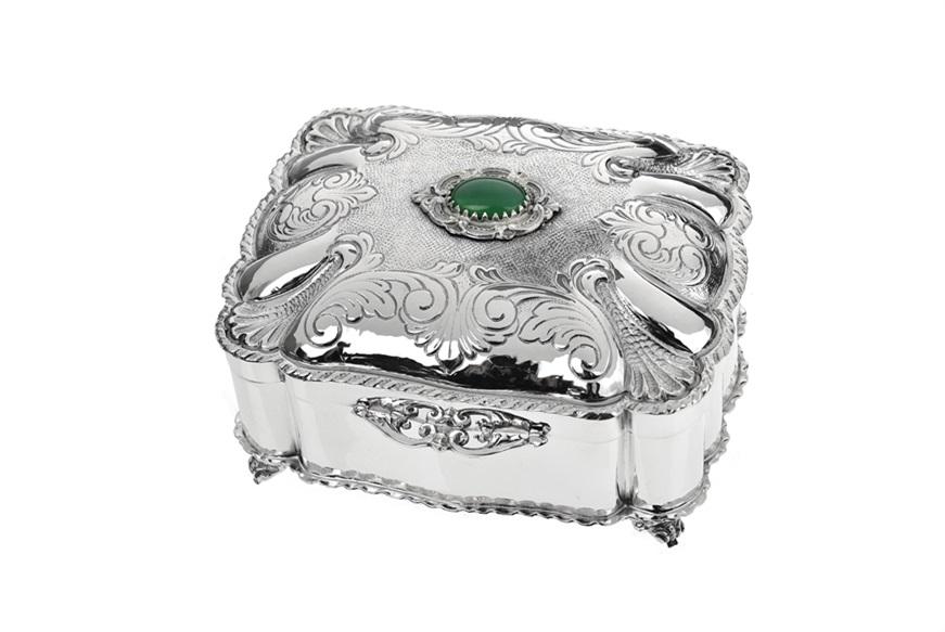 Scatole portagioie e cofanetti 7 idee per i vostri gioielli - Portagioie argento ...