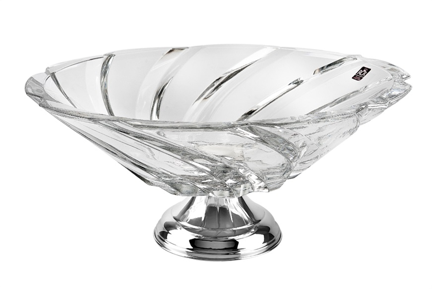 50 years of wedding gifts: crystal centerpiece
