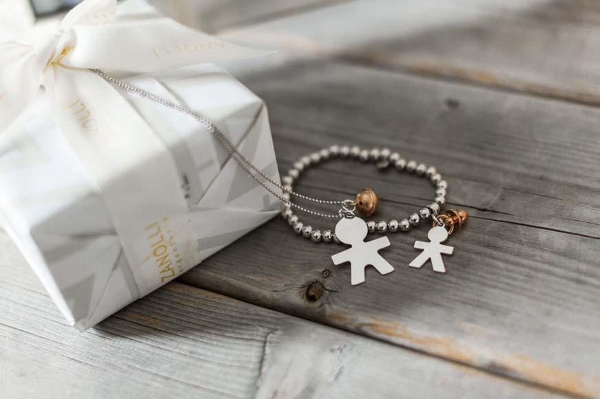 Regali madrina battesimo collane e bracciali in argento