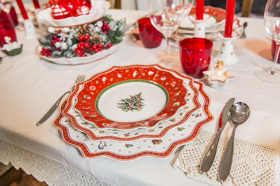 Servizio Piatti Di Natale Tovaglioli Di Carta