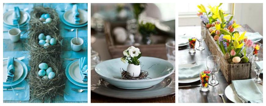 Decorazioni pasquali fai da te con foto e immagini per - Decori pasquali per la casa ...