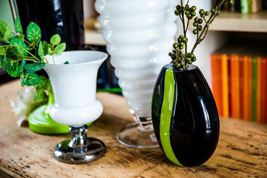 vasi moderni da interno arredare con i fiori foto per